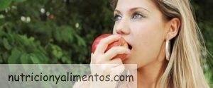 Piel seca y Alimentación