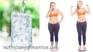 ¿Por qué beber agua adelgaza?