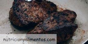 La carne muy hecha y el cáncer