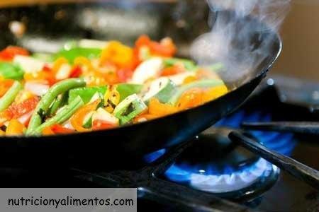 cocinar sin perder vitaminas