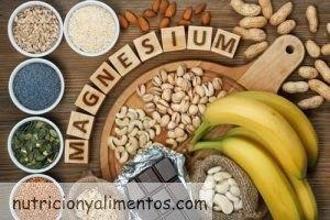 El magnesio en los alimentos