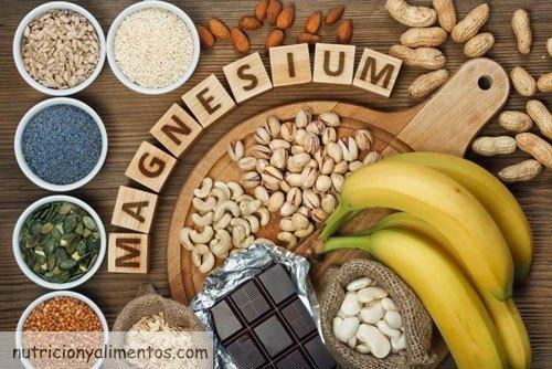 magnesio en las comidas