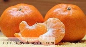 Mandarina. Propiedades y Beneficios