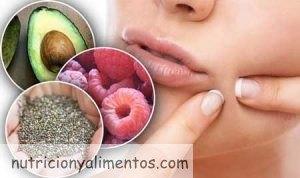 Alimentación para evitar el acné
