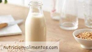 Leche de soja. Propiedades y Beneficios