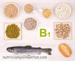 La vitamina B1 o Tiamina